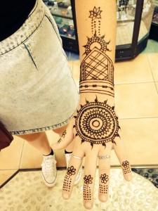 Henna tattoo Urunga